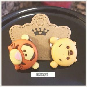 Tigger & Pooh Earrings. 🆕
